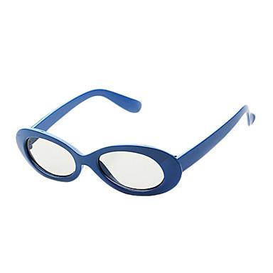 m&reald sinema ve 3d tv (mavi) için polarize ışık desenli geciktirici chledren adlı 3d gözlük k