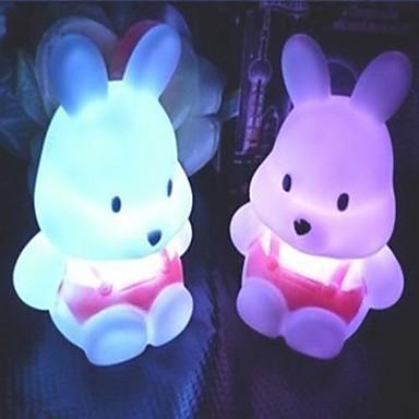1pc Gece aydınlatması LED Batarya Su Geçirmez