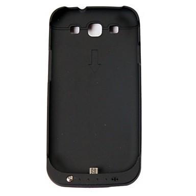 3200mah caz baterie negru pentru Samsung Galaxy S3