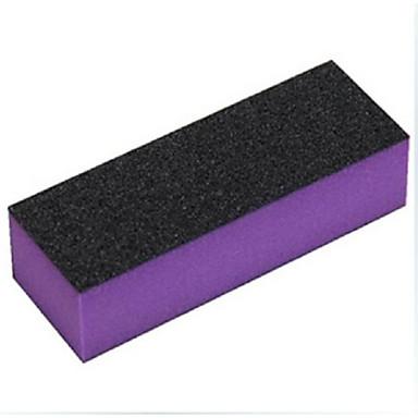 Manikür çivi aletleri parlatmak ve zımpara için 1 adet yüksek kaliteli tampon blok