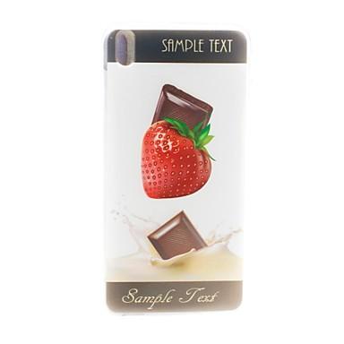 Maska Pentru HTC Carcasă HTC Model Capac Spate Fruct Moale TPU pentru