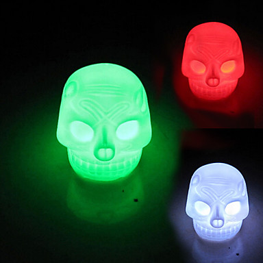Coway Skull Colorful LED Night Light Lamp Halloween Decorations