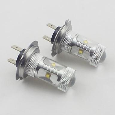 h7 30w 6xosram 450-550lm 6000K soğuk beyaz ışık araba için ampul led (10-24v, 2 adet)