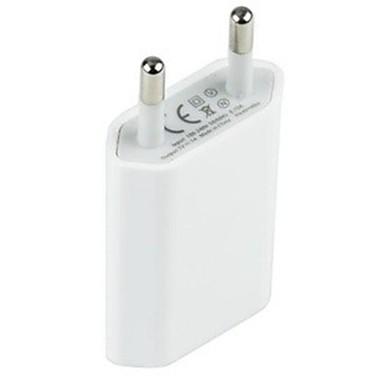 Laddare till hemmet / Laddningsskal USB-laddare EU-kontakt 1 USB-port 1 A för