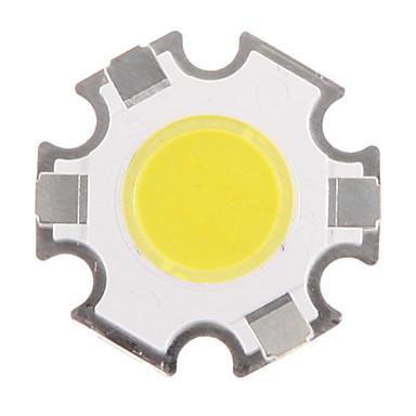 zdm 1pc 3w 280-350lm 냉 백색 통합 led / cob 전구 액세서리 칩 실리카 겔 / 발광 표면 10 x 10 mm (dc3.0-3.4v, 300ma)