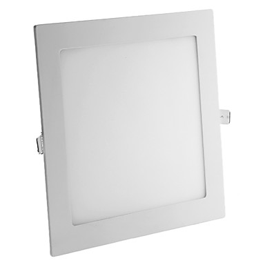 1610 lm Gömme Işıklar 90 led SMD 2835 Sıcak Beyaz AC 85-265V