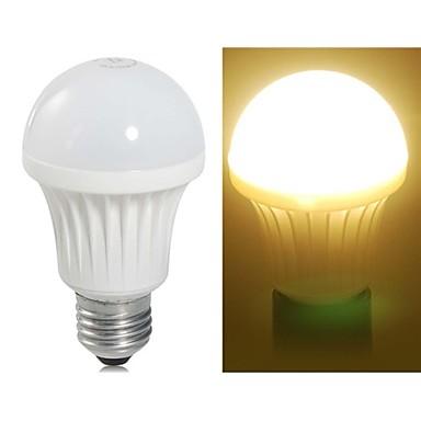 E26/E27 LED Küre Ampuller A60(A19) 11 SMD 3528 490LM lm Sıcak Beyaz AC 220-240 V