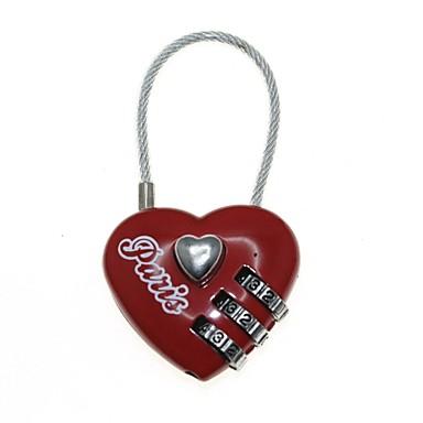 3 cifre de blocare inima parolă combinație (cod: 000)