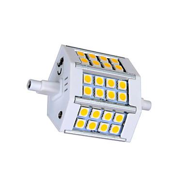 3000 lm R7S LED-maïslampen T 24 leds SMD 5050 Warm wit Koel wit AC 85-265V