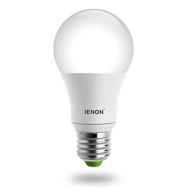 IENON 560-630 lm E26/E27 LED Küre Ampuller A60(A19) led COB Sıcak Beyaz AC 100-240V