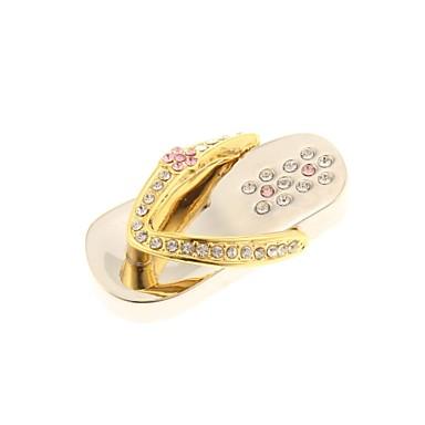 zp 64GB model papuci de aur bling diamant stil de metal unitate flash USB