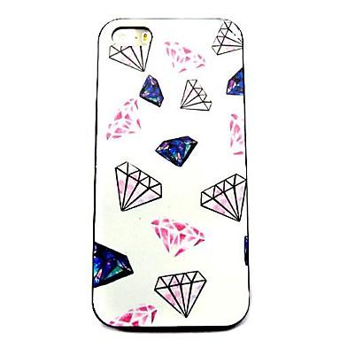 caso difícil padrão de diamante para iphone 5 / 5s