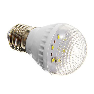 1 buc 2 W Bulb LED Glob 100-150 lm E26 / E27 G45 7 LED-uri de margele SMD 2835 Decorativ Alb Rece 220-240 V / RoHs