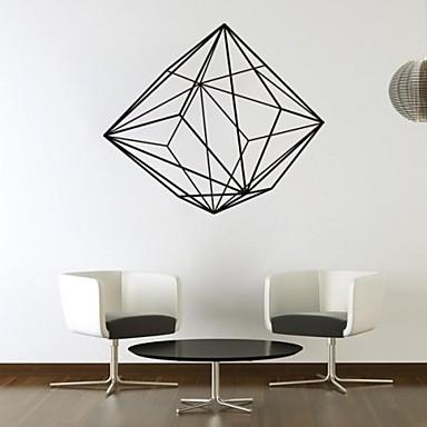 Abstract Modă Forme Fantezie Perete Postituri Autocolante perete plane Autocolante de Perete Decorative, Vinil Pagina de decorare de