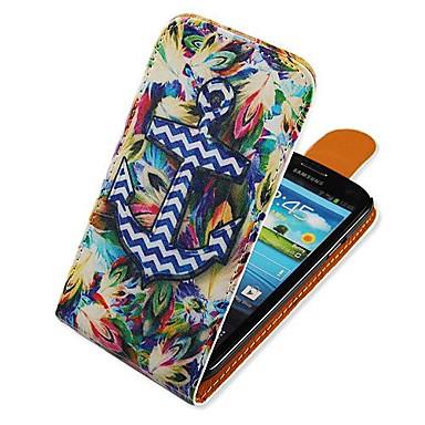 Maska Pentru Samsung Galaxy Samsung Galaxy Carcasă Întoarce Model Carcasă Telefon Ancoră PU piele pentru S3