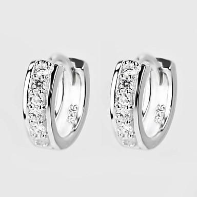 Cercei Rotunzi  Pietrele Lunilor Clasic bijuterii de lux Plastic Zirconiu Diamante Artificiale Bijuterii Pentru Zilnic Casual