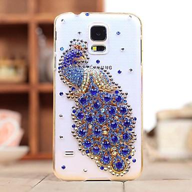 πολυτέλεια διαμάντια κρύσταλλο κορδέλα πίσω κάλυψη περίπτωσης για μίνι Samsung Galaxy S5