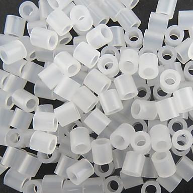 ca. 500p / bag 5mm transparante zekering kralen Hama kralen diy puzzel eva