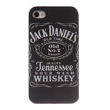 Design whisky caz greu pentru iPhone 5 / 5s