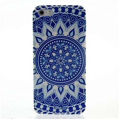 Albastru și alb portelan model greu de caz pentru iPhone4/4S