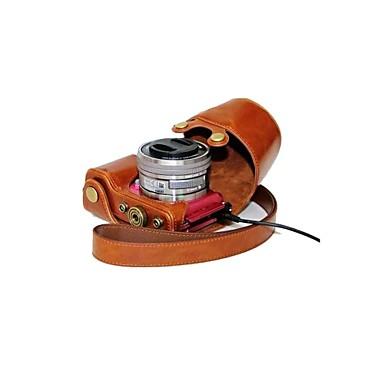 dengpin® δέρμα προστατευτικό κάλυμμα κάμερας περίπτωση τσάντα στυλ φόρτισης για SONY ALPHA a5100 A5000 ilce-5100l NEX-3N