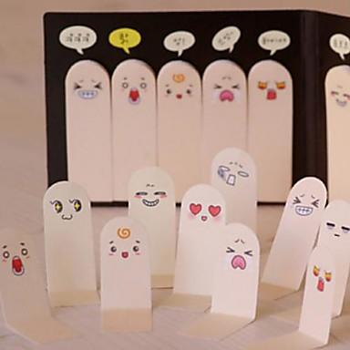 expressões dedo diy adesivo recados (100 páginas / pcs)