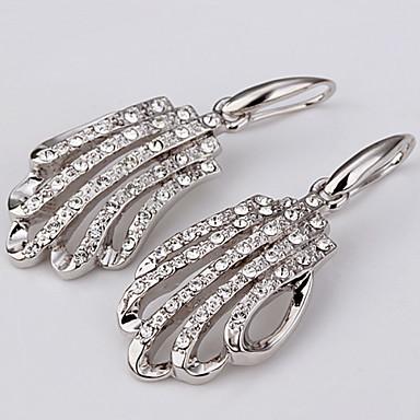 Dame Cercei Picătură Zirconiu Cubic Zirconiu Placat cu platină Diamante Artificiale Bijuterii Zilnic Casual