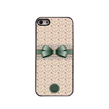 iphone 5 / 5s için kişiye özel hediye, güzel ilmek ve çiçek tasarımı metal kasa