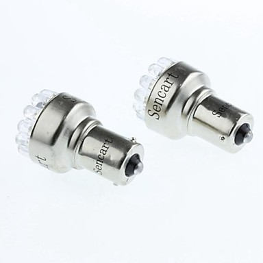 BA15S (1156) Automatisch Motor Wit 1W SMD LED Remlicht