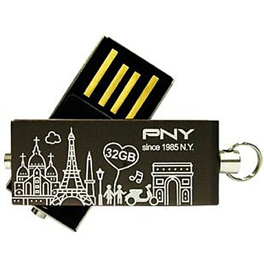 PNY minunat paris atașat turnul eiffel unitate flash USB de 32 GB