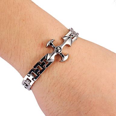 mode kruisvorm unisex zilver legering tennis armband (1 st)