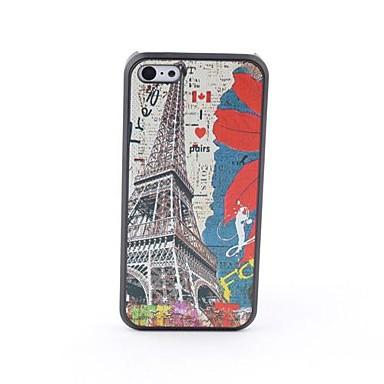 Eiffel toalha estilo protetor caso traseiro para iphone 5c iphone casos