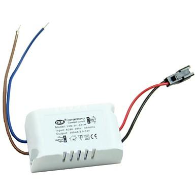 ac 85-265V la (1-3) x1w driver extern condus de utilizare lampă cu caz