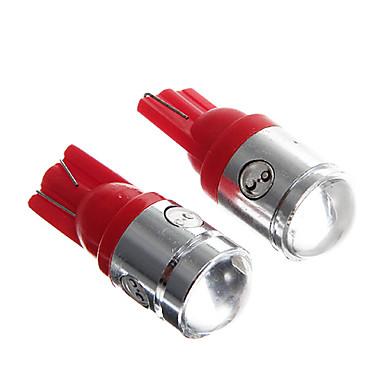 T10 Rood 2.5W COB Dashboardverlichting Deurlicht