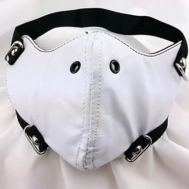 Maske Inspiriert von Tokyo Ghoul Cosplay Anime Cosplay Accessoires Maske PU-Leder Herrn neu / heiß Halloween Kostüme