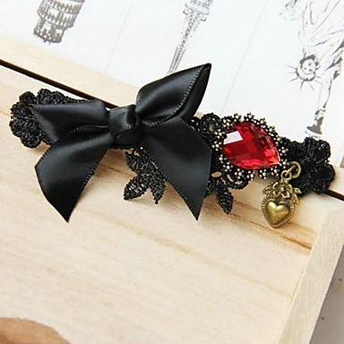 moda bowknot negru agrafe de păr panglică pentru femei (1 buc)