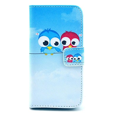 voordelige iPhone 5c hoesjes-hoesje Voor iPhone 5c / Apple iPhone 5c Volledig hoesje Hard PU-nahka