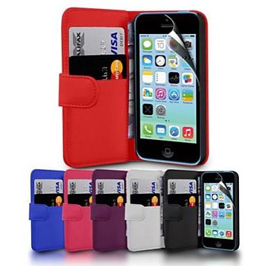 portefeuille PU étui en cuir pour iPhone 6 (couleurs assorties)
