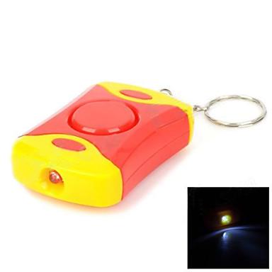Garda personală Siguranță Sirena de alarmă cu LED-uri Lanterna cu 3pcs AG13