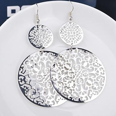 Pentru femei Cercei Picătură Dangling Dangle cercei Bijuterii Negru / Argintiu / Auriu Pentru Nuntă Petrecere Zilnic Casual