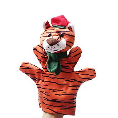 Fantoche de Dedo Brinquedos Animais Tiger Inovador Para Meninos Para Meninas Peças