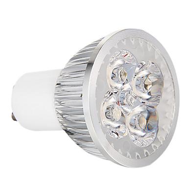 GU10 LED-spotlampen 4 leds Krachtige LED Dimbaar Warm wit 360lm 3000-3500K AC 220-240V