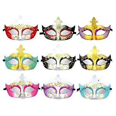 1pc Πλαστικό Αποκριάτικες Μάσκες Μάσκες