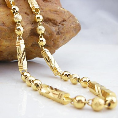 voordelige Heren Ketting-Dames Kettingen Dubai Koper Gouden Kettingen Sieraden Voor Bruiloft Feest Dagelijks Causaal Sport