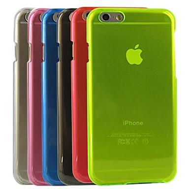 Voor iPhone 6 hoesje / iPhone 6 Plus hoesje Transparant hoesje Achterkantje hoesje Effen kleur Hard PC iPhone 6s Plus/6 Plus / iPhone 6s/6