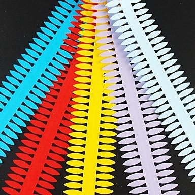 5pcs 4 cm x 51cm ac hârtie de flori în formă de petală quilling set de reclame origami DIY hârtie-rulare