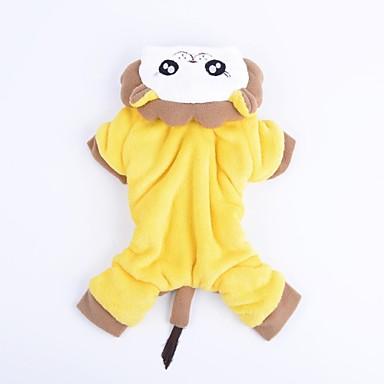 Hund Pullover Hundekleidung Tier Gelb / Rot Terylen / Baumwolle Kostüm Für Haustiere