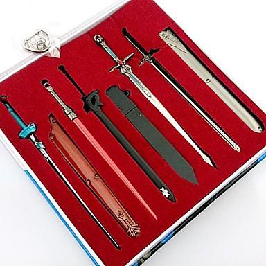 Zwaard Meer Accessoires geinspireerd door Sword Art Online Cosplay Anime Cosplayaccessoires Sleutelhanger Legering Heren Dames