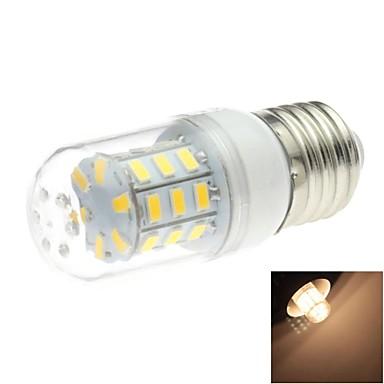 E26/E27 LED-maïslampen T 30 leds SMD 5730 Warm wit 200lm 3000K AC 220-240V