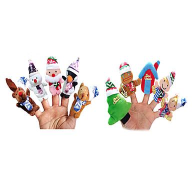 Fingerpuppen Neuartige Textil Mädchen Spielzeuge Geschenk 10 pcs